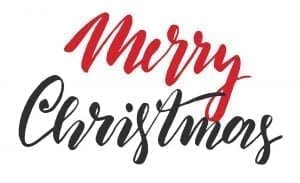 2018 Christmas Holiday Closure