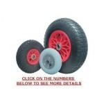 Poly Rim Pneumatic Wheels