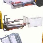 Forklift Mounted Bin Tipper – Hydraulic/External Grab