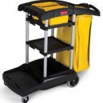 High Capacity Janitor Carts