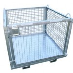 Crane and Forklift Goods Cage