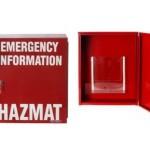 Hazmat Emergency Manifest Storage Cabinet