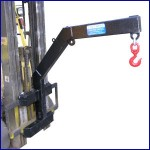 Forklift Jib Carriage Mounted