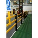 A-Safe Pedestrian Separation Barrier
