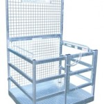 Forklift Mounted Safety Work Cage