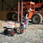 Rugged 5th Wheel Platform Truck