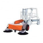Forklift Mounted Sweeper