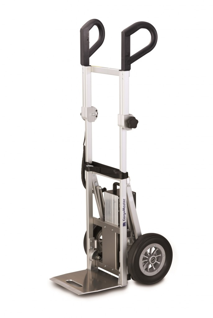 Cargomaster Electric Stair Climbing Trolley Materials Handling