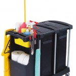 Deluxe Compact Cleaning Carts