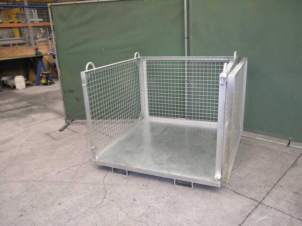Crane And Forklift Goods Cage Materials Handling