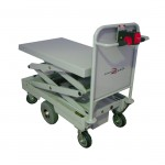 Powered Lift and Drive Scissor Trolleys