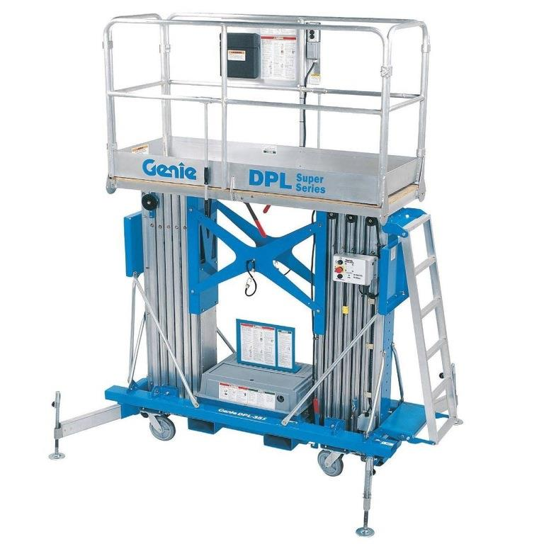 Goods And Personnel Lifting: Dual Personnel Lift