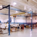 Gorbel Workstation Gantry Cranes