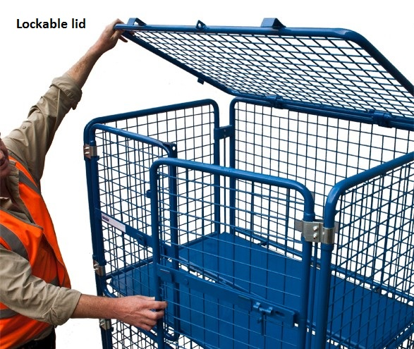Goods Trolley Cage Materials Handling