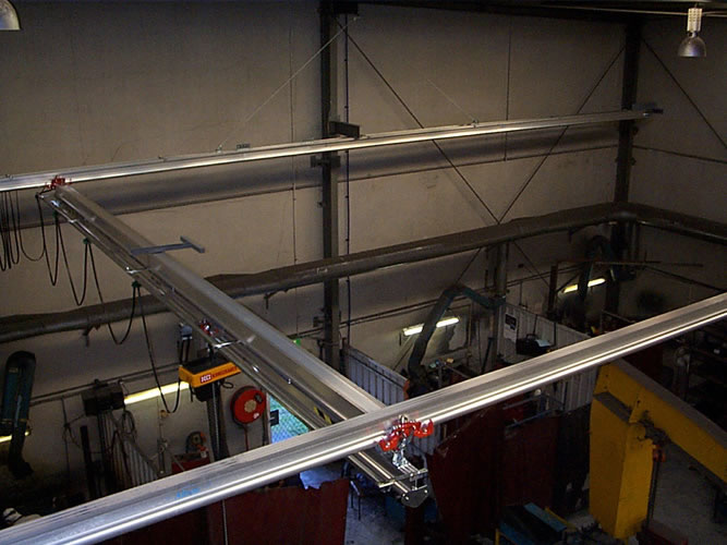 Altrac Lightweight Aluminium Crane Systems Materials