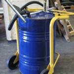 Fast Fluid Recovery Vacuum Drum Pump