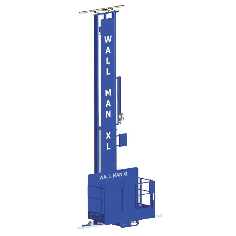 Wall Mount Platform : Wall man pneumatic personnel access platforms