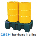 Polyethylene Low Profile Spill Control Pallets