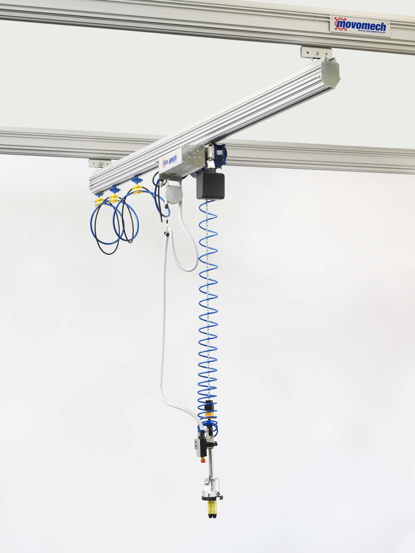 Mechrail Lightweight Aluminium Crane Systems Materials