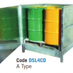 Spill Bins – Enclosed, Galvanised