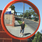 Stainless Steel Convex Mirrors