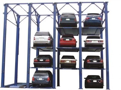 Cars Stacked Up – It's the Law in the West!