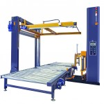 PMP303 In Line Automatic Unmanned Stretch Wrapper