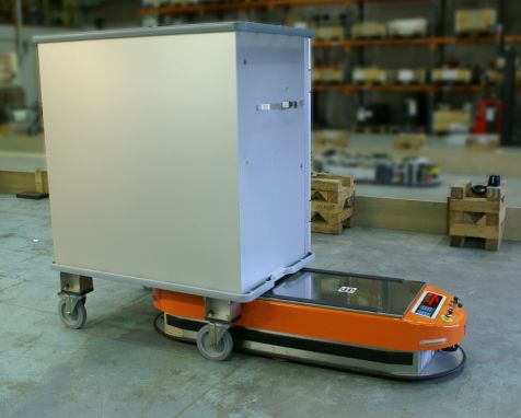 Automated Guided Vehicles Agv For Healthcare Facilities