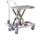 Aluminium Mobile Scissor Trolleys