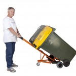 WheelieSafe™ Wheelie Bin Handling Trolleys
