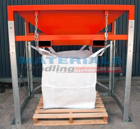 Bulk Bag Hopper Frame Materials Handling