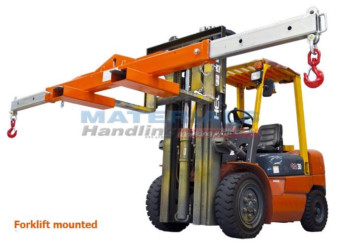 Spreader Beams For Crane Or Forklift Materials Handling