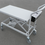 Sale:  Battery Powered Mobile Scissor Table