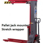 Mobile Stretch Wrapper Pallet Jack Mounted