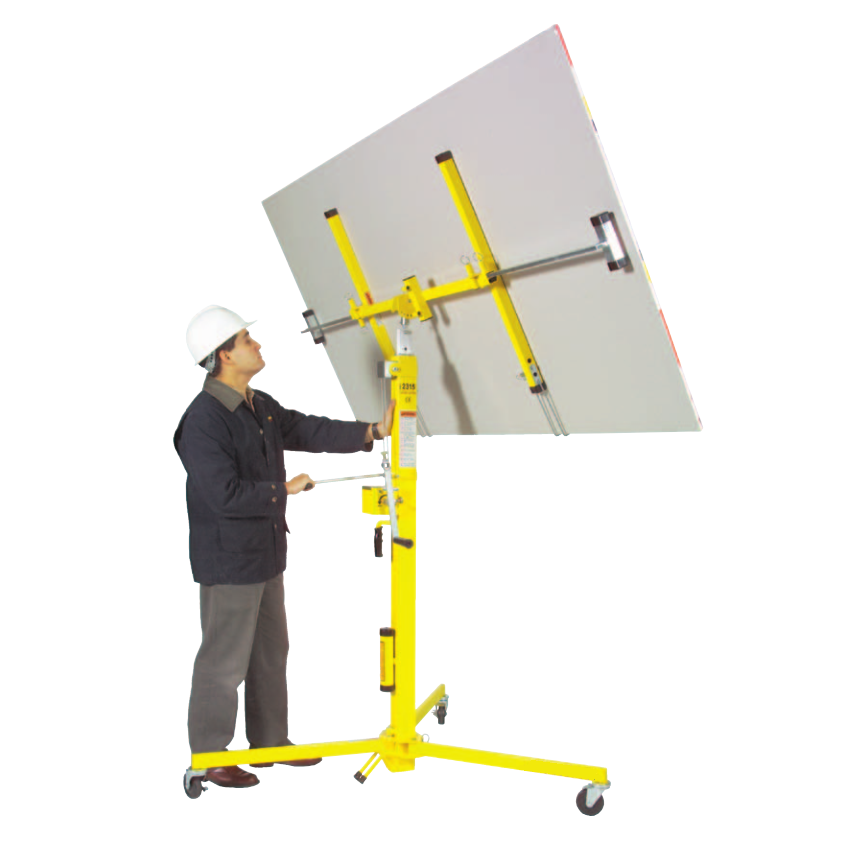 Portable Hvac Lifts : Series drywall hvac lifts materials handling
