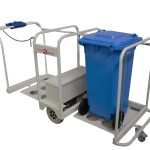 Wheelie Bin Transporters Battery Powered