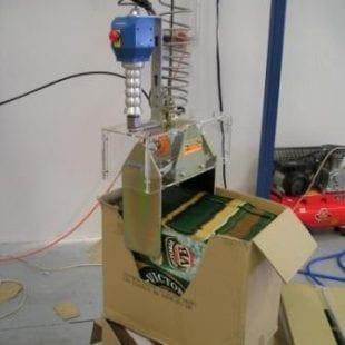 Loading Beer Cartons into a High Speed Carton Erector