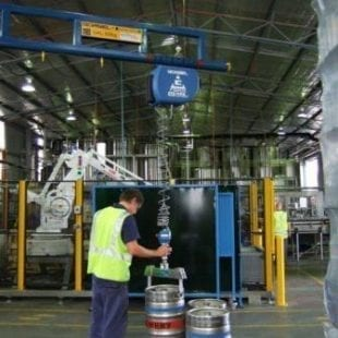 Putting the Force behind Keg Palletising