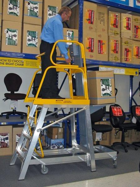 Stockmaster Navigator Lift-Truk Order Picking & Access Platforms