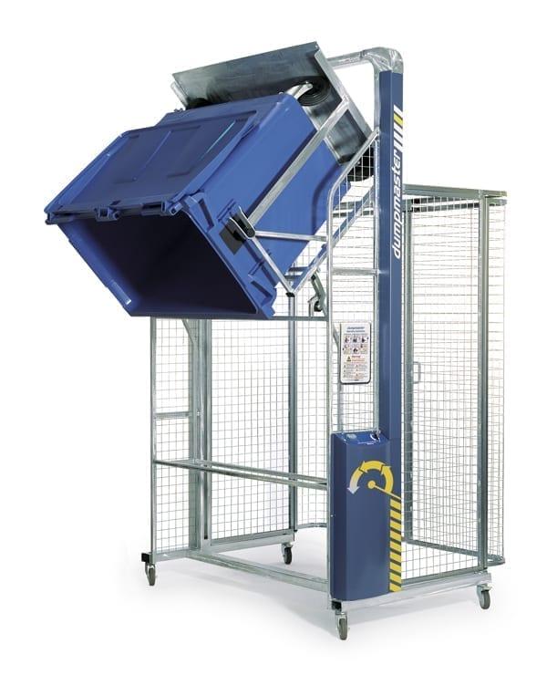 Dumpmaster Wheelie Bin Tipper 250kg Materials Handling