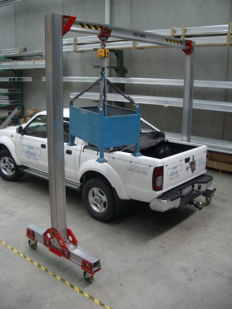 Mobi Trac Mobile Gantry Materials Handling
