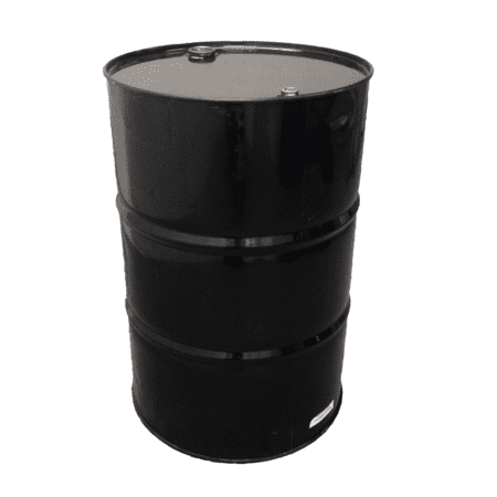 205L steel drums Black