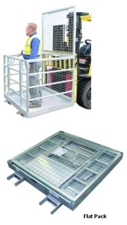 Forklift Mounted Work Platforms