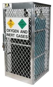 Aluminium Gas Cylinder Stores Materials Handling