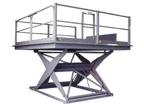 MatHand Dock Scissor Hoists