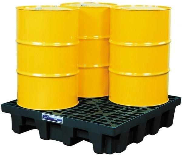 28254-4-Drum-Square-Spill-Control-Pallet-250-litre-capacity