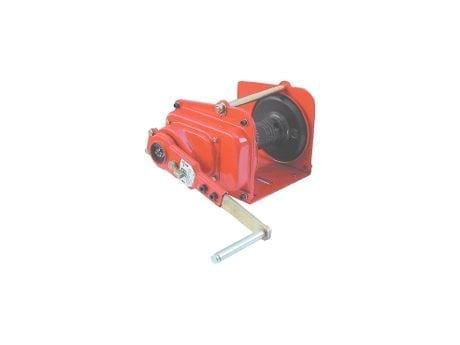 Hand Operated Brake Winches - Materials Handling