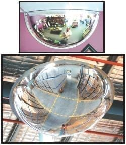 Convex Mirrors - Ceiling Dome