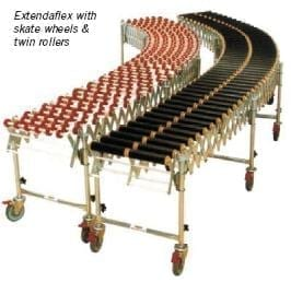 Expandable & Flexible Conveyor - Extendaflex - Materials Handling