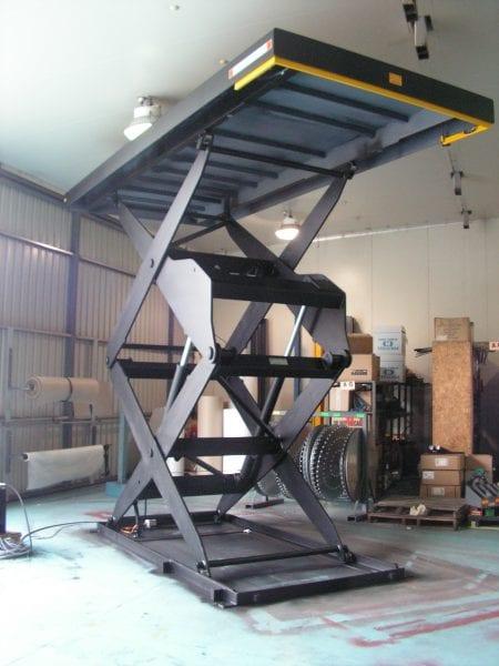 Large Scissor Lift Tables Materials Handling